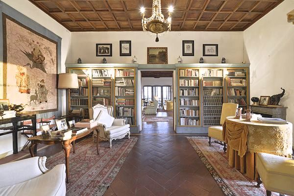 Stay at Villa Gamberaia near Florence Tuscany Italy